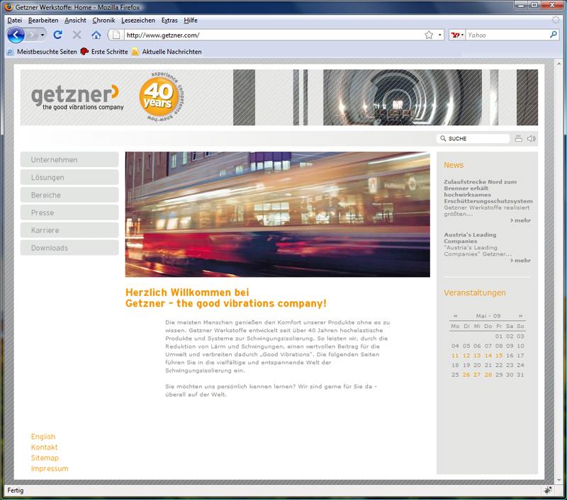 Pflege und Wartung der Website auf Typo3-Basis